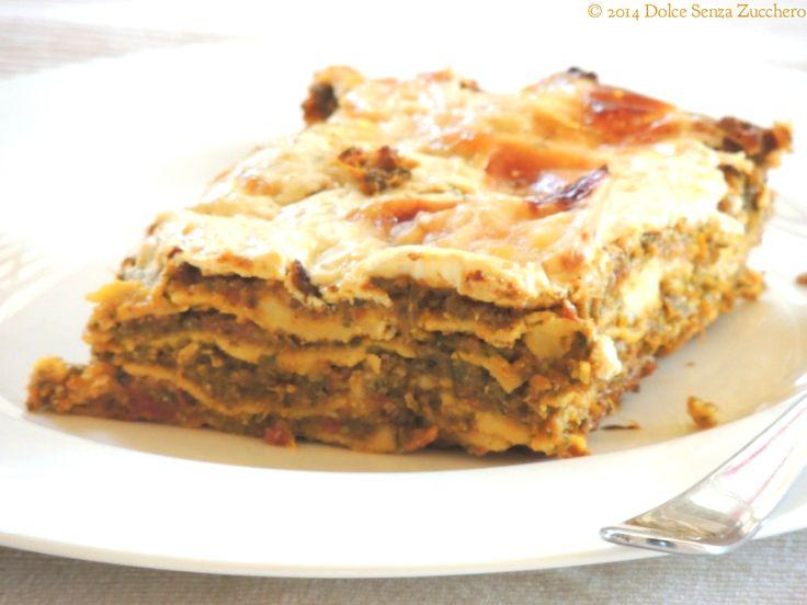 Lasagne Senza Glutine e Senza Farina | Dolce Senza Zucchero