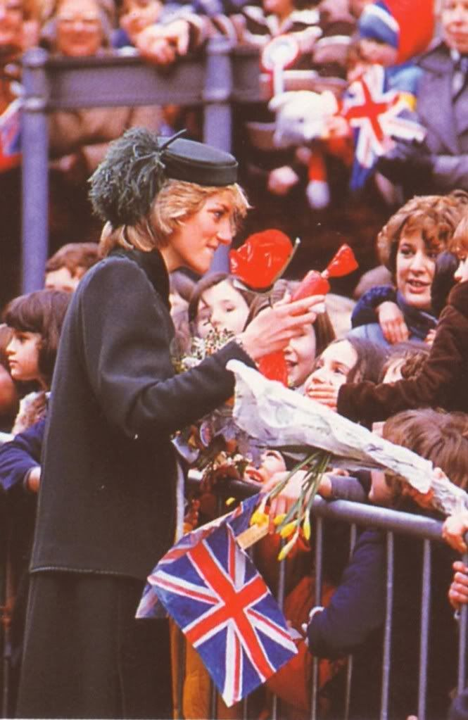 February 4, 1983: Princess Diana's visit to Royal Hospital for Sick Children in Bristol