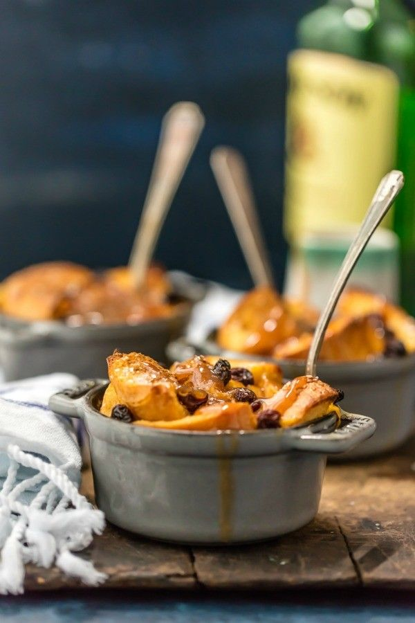 Irish Bread Pudding with Whiskey Caramel Sauce is warm, comforting and ...