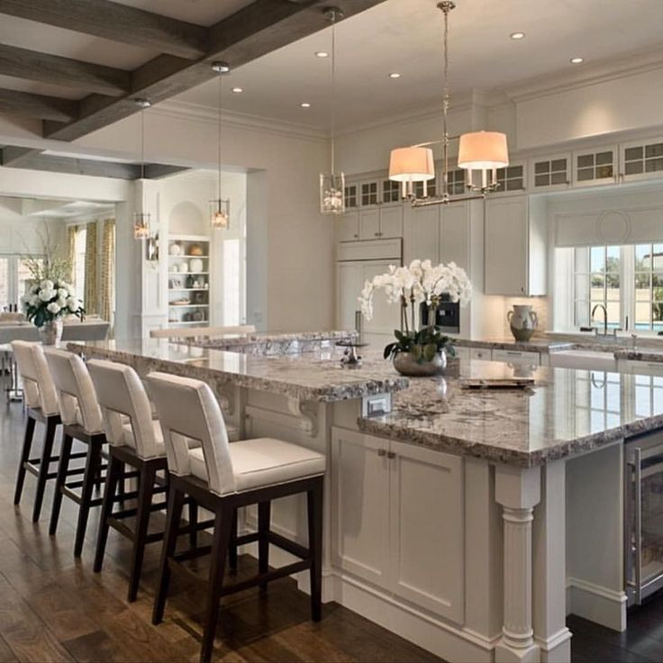 Beautiful Kitchens With Islands With Design Ideas 53652: Best 25+ Farm Kitchen Ideas Ideas On Pinterest