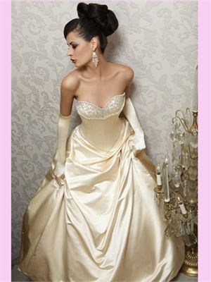 Simple Yet Beautiful Reminds Me Of Belle From Beauty And The Beast Princess GownsPrincess Wedding