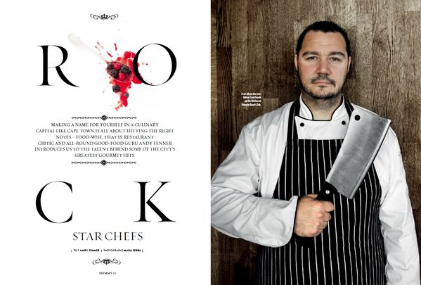 ARTICLE: Meet the talent behind some of #CapeTown's greatest gourmet spots. Read more in the latest #ShimmyStyle mag