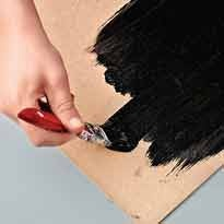 краска для шк. доски своими руками