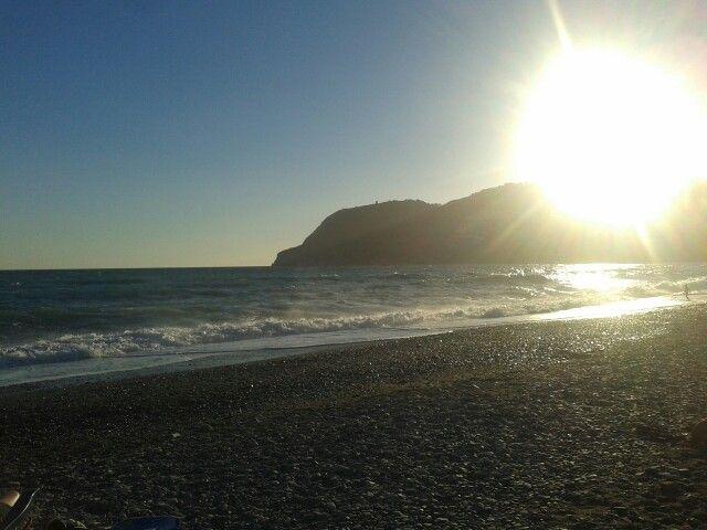 La playa de La herradura