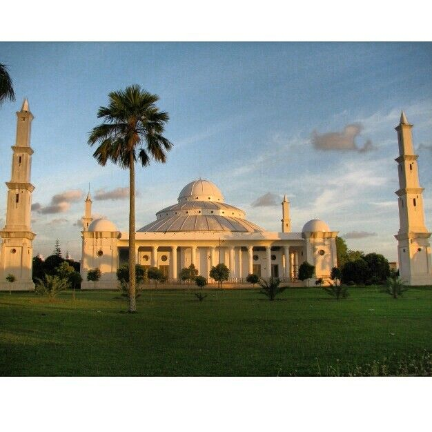Mosque at Bengkulu, Sumatra, Indonesia