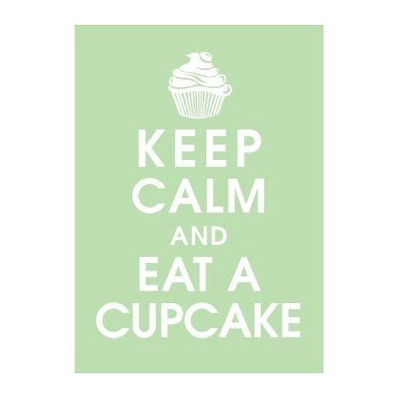 Cupcake art for kitchen!