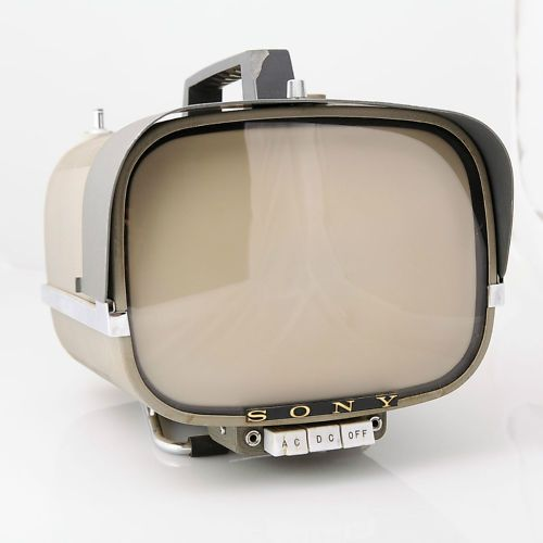 Vintage Sony 8-301W Portable Transistor TV. Bid on it at ebay.com.