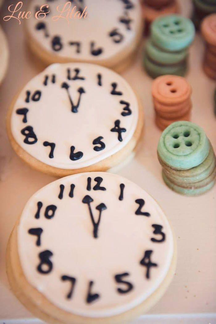 Clock cookie