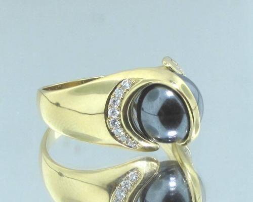 wissel sieraden goud of zilver ringen met edelstenen kogels van 10 ..