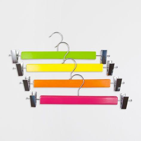 Cintre Jupe Multicolor (Lot de 4) - Cintres et patères - Accessoires | Zara Home France