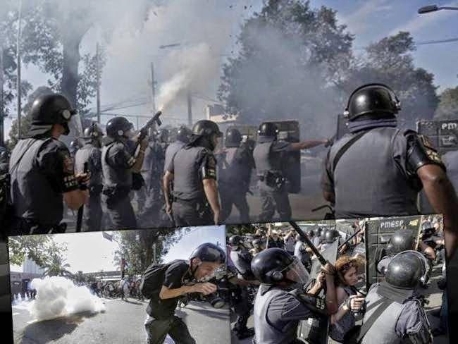 VICE CODE: Παγκόσμιο Κύπελλο 2014: Χάος, βία και αίμα στο Σάο...