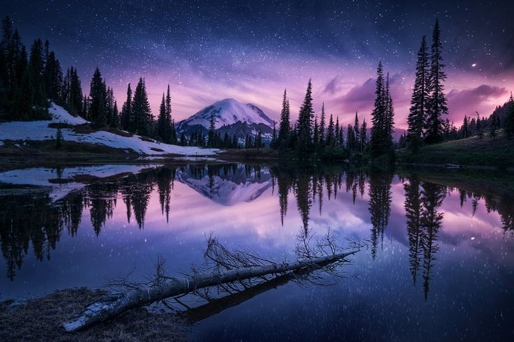 ***Beautiful Mt. Rainier by İlhan Eroglu / 500px