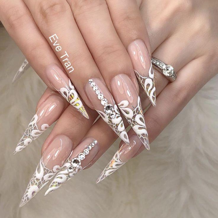 40 best Extreme Nail Designs images on Pinterest | 3d nails art ...