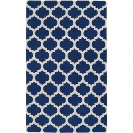 blue againSurya Frontier, Blue, Area Rugs, Livingroom, Hands Woven, Living Room, Wool Rugs, White Rugs, Frontier Mediterranean