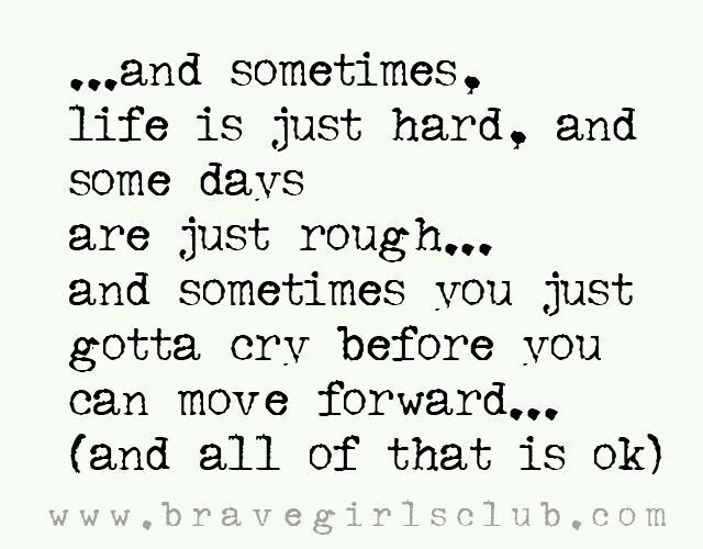 ...and sometimes