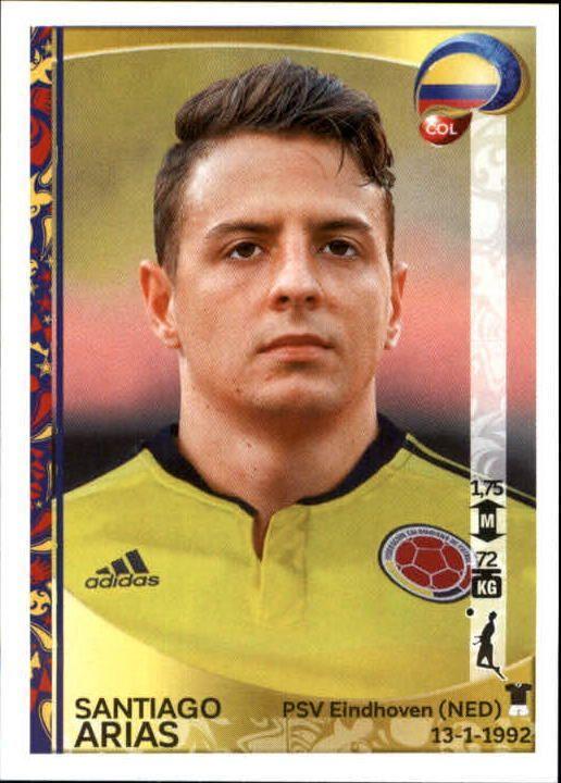 2016 Panini Copa America Centenario Stickers #44 Santiago Arias - NM-MT