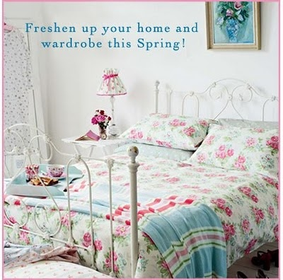 Cath kidston spring bedroom room with a view pinterest for Cath kidston bedroom designs