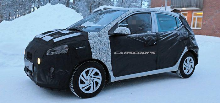 2020 Yeni Kasa Hyundai I10 Mk3 Goruntulendi Oto Kokpit