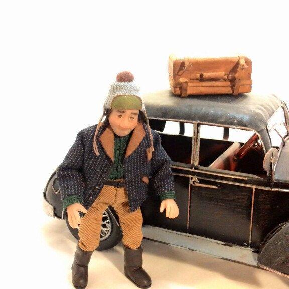 Miniature doll 1:12