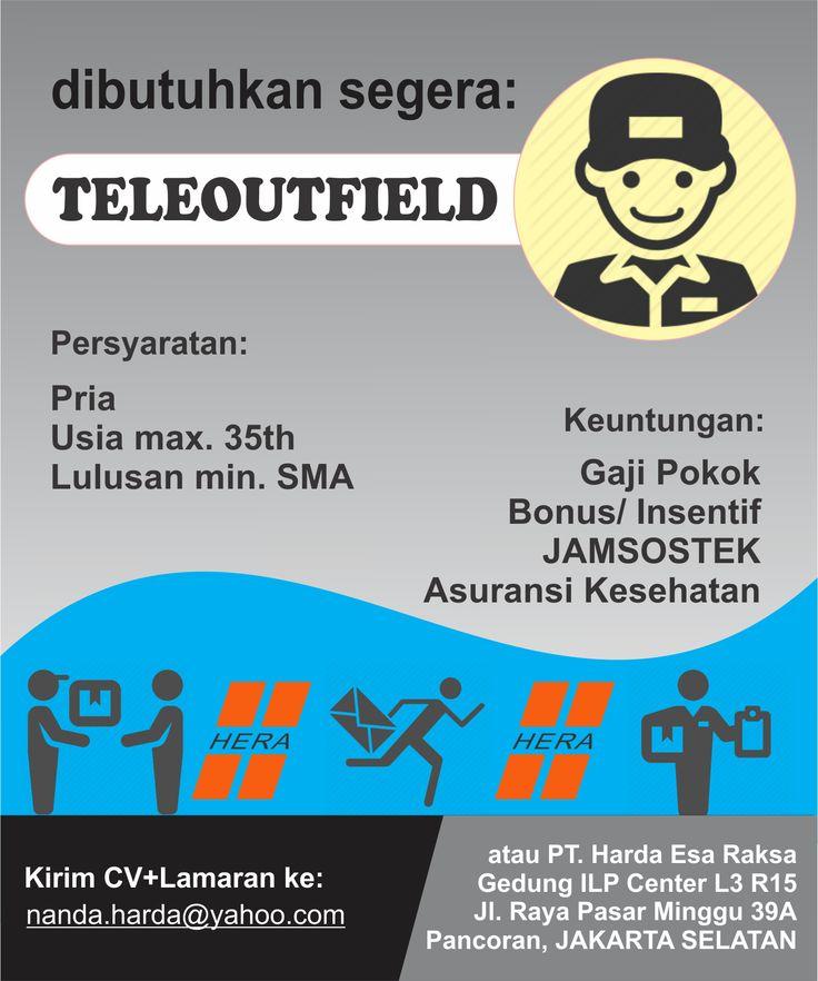 #teleoutfiled #lowongan #pria #kerja