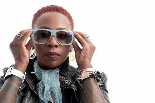 comedian Gina Yashere performs at Colston Hall on 14 March 2015