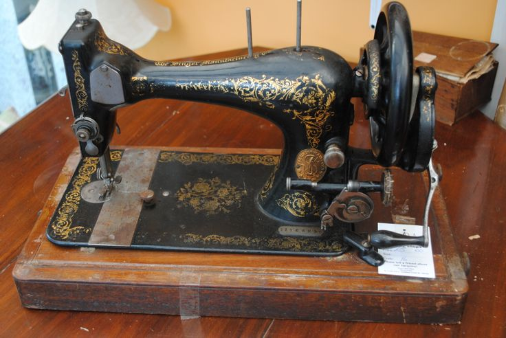 Motel's Used Sewing Machine (late 1800's model) Fiddler