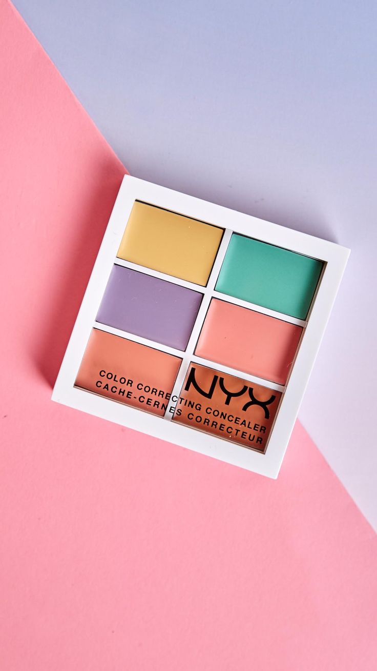 Makeup beauty and more jane cosmetics multi colored color correcting - Color Correcting Concealer Palette Nyx