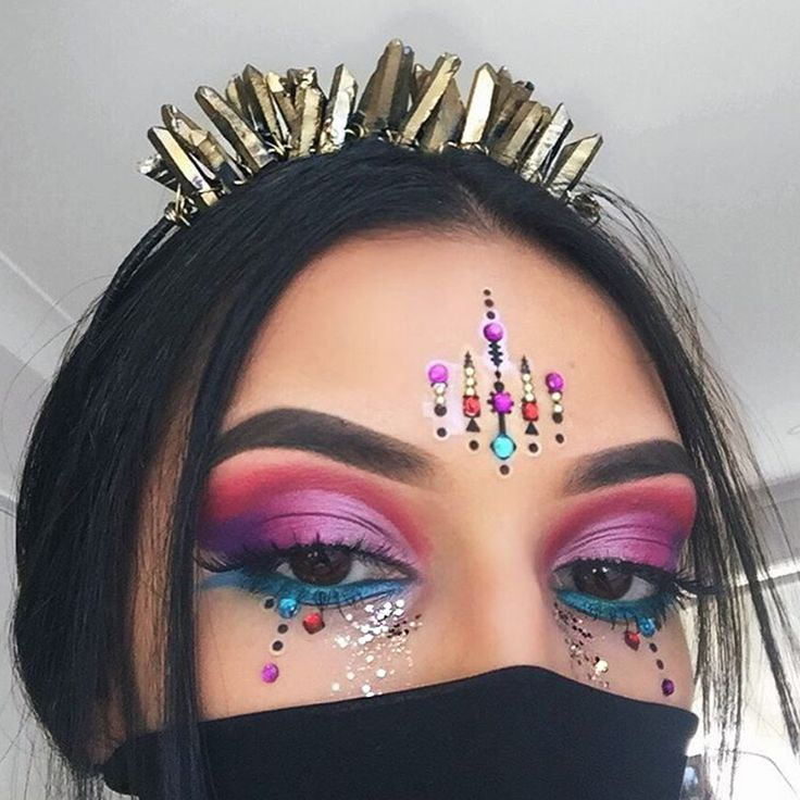 355 best Rave Makeup images on Pinterest | Make up, Festival ...
