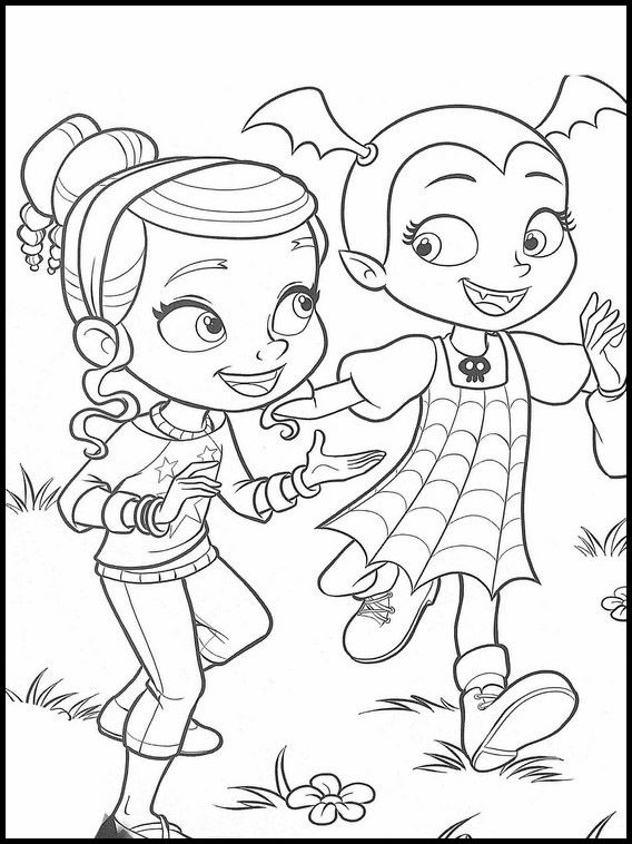 Vampirina 22 Printable Coloring Pages For Kids Toy Story Coloring Pages Disney Coloring Pages Mermaid Coloring Pages