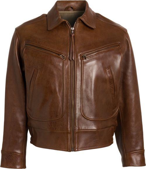 Chapal Of Paris Leather Jacket Old Man Fancy Vestes