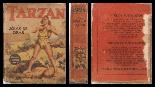 TIJOLINHO - Coleção Pequenos Grandes Livros: TARZAN E A..