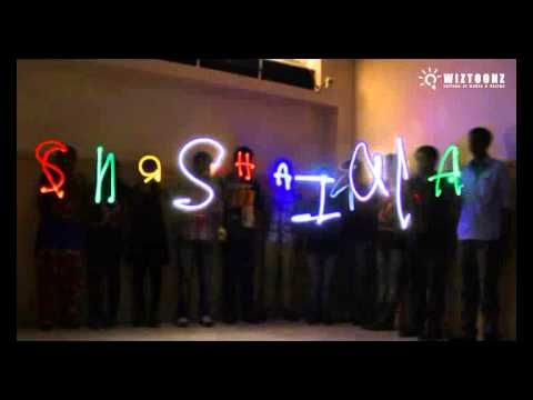 Light Painting Training Workshop - Output - of DIM 1st Semester, July 2014 batch