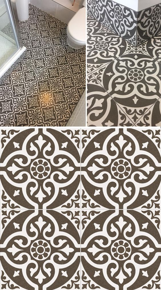 This Ornate Chard Tile Makes A Stylish Statement The Intricate