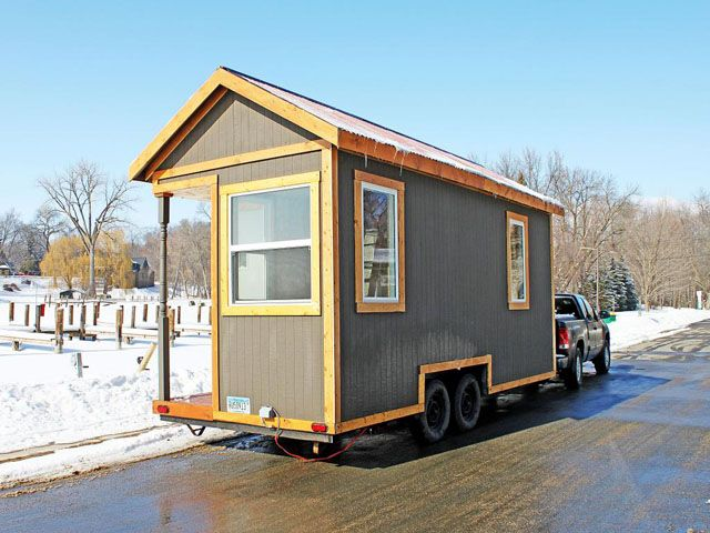 Minnesota tiny house listed for sale 18 500bucks 18 x 7 for Cabin a camper for sale