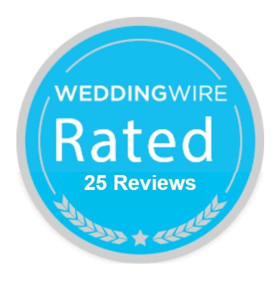 We've been so blessed to receive hundreds of reviews from our couples/customers and thrilled that 25 landed on @weddingwire to give us a Silver Badge!! Couldn't ask for a better way to start the week! #timetosuitup #happyfriday #weddingwire #customerfeedback #fivestars #groomstyle #weddingsuit #tuxedos #weddinginspo #bestofweddings