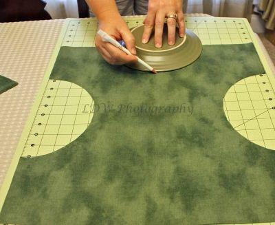 Free Basket Liner Sewing Pattern Making The Half Circle