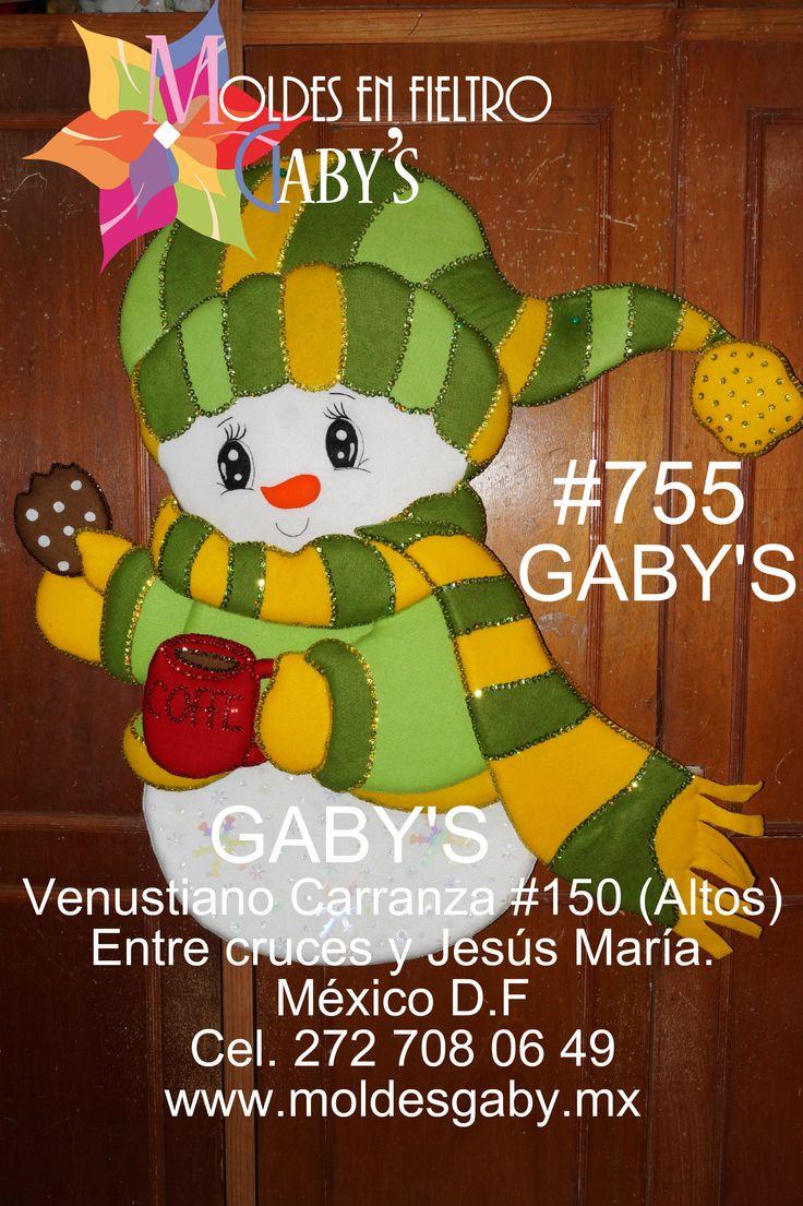 755 Muñeco de Nieve