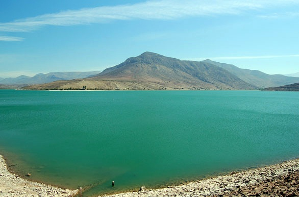 Embalse con capacidad de 100 millones m3. - Ovalle - Coquimbo  - Chile - httpbit.ly7mYC4f