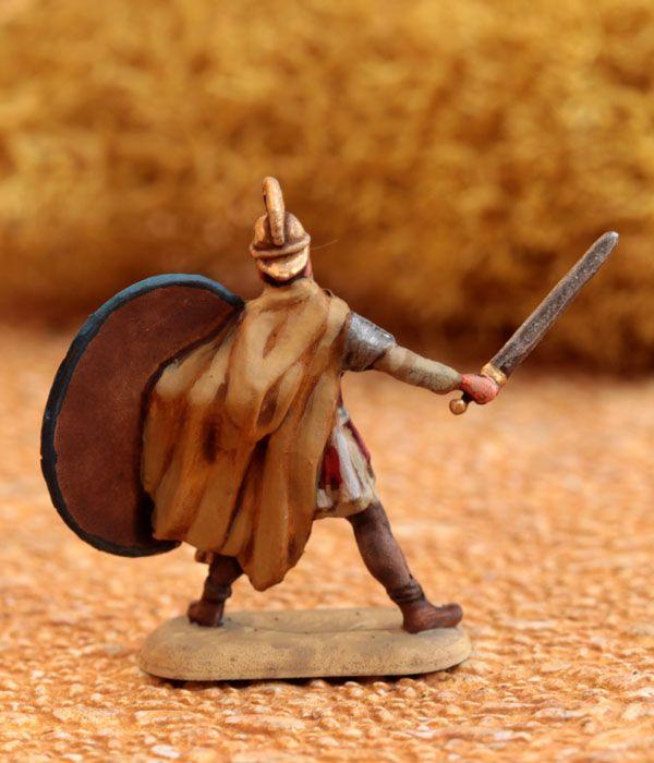 1/72 Late Roman Legionaries - Pannoniciani Seniores - minis mini figurines figurine figures figure 20mm 1/72 ancients painting plastic toy soldier miniatures Philotep