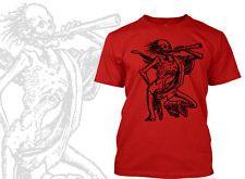 Medieval skeleton  t-shirt, gothic, Goth, Death Rider, occult vintage, Halloween