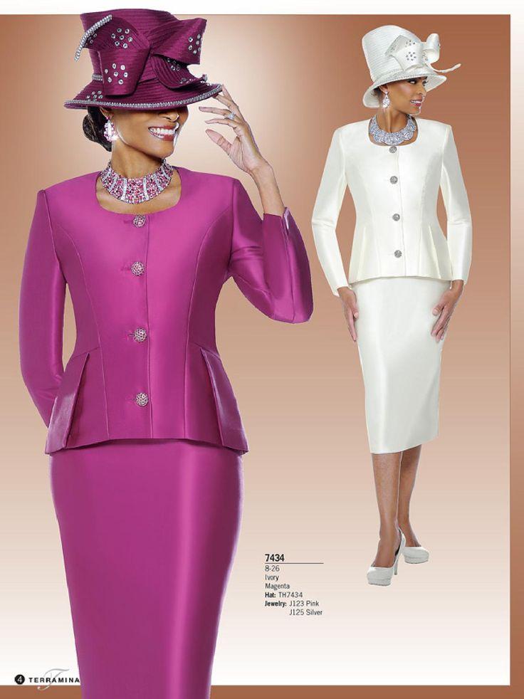 Terramina Church Suit 7434 - Divine Church Suits