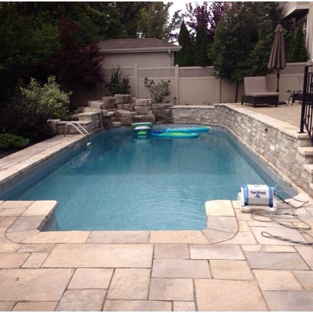 1000 images about inground pools by pioneer family pools for Raised swimming pool designs