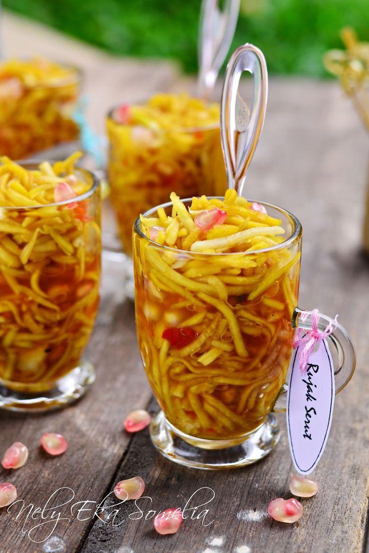 Rujak serut - Indonesian fruit salad