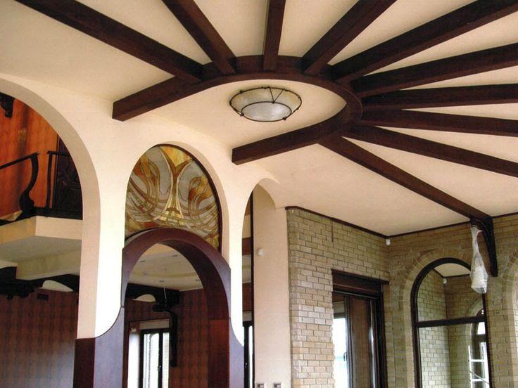 12 best images about 14 gypsum false ceiling design with for Wooden false ceiling designs for living room