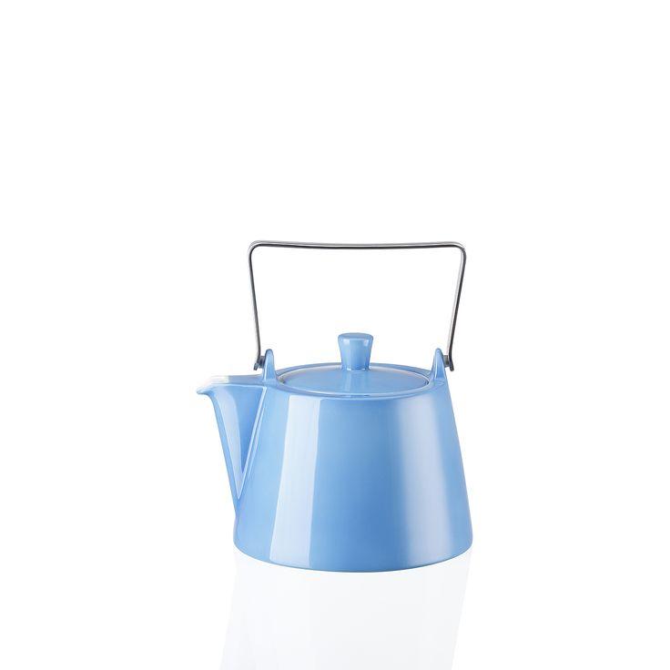 Arzberg TRIC   BLUE Teekanne /6 Personen 1,15 l