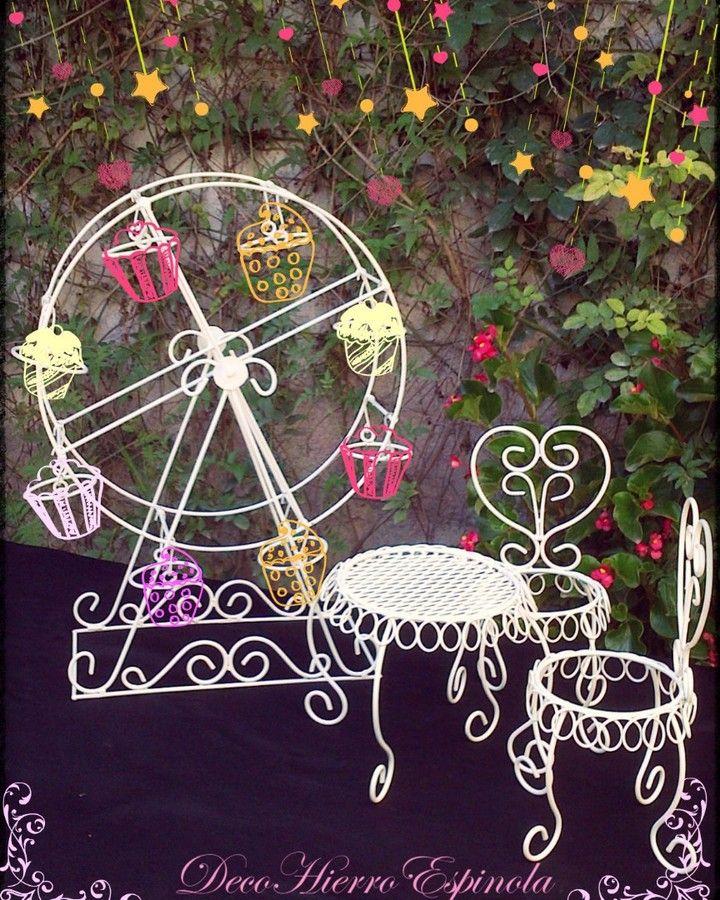Muy buenas tardes!! Les recordamos que abrimos la lista de pedidos para entregas en SEPTIEMBRE!!! #APURATE #temporada2017 #primavera #decoracion #irondecorations #cakestand #cakestands #carriage #decohierroespinola