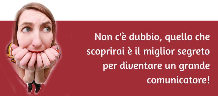 23 24 25 Aprile 2016 presso Pick Center - Roma Eur: Saper parlare, presentarci, essere più disinvolti e rilassati in ogni contesto sociale.