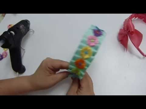 Hacer y Usar MOLDE para MOñO BOUTIQUE Paso a Paso MAKE and USE A BOUTIQUE BOW TEMPLATE - YouTube