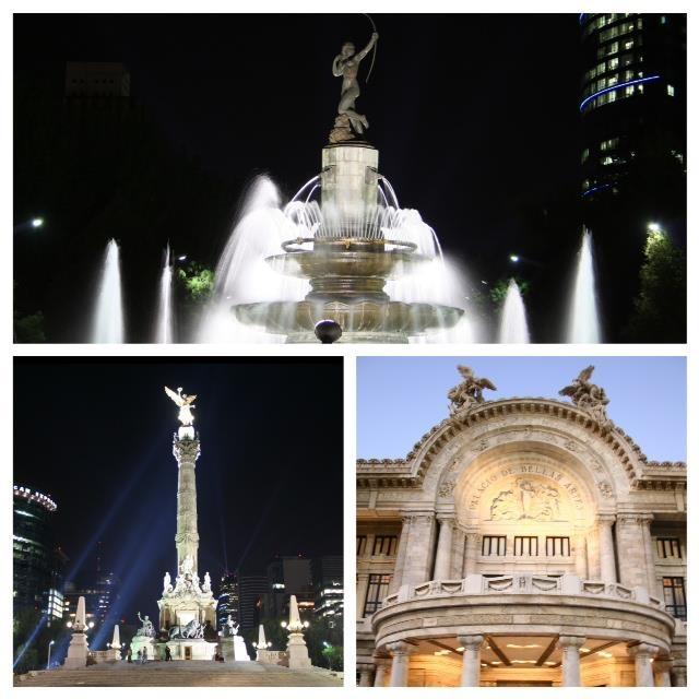 Caminando con el Tour Flexi por el DF desde La Diana Cazadora hasta Bellas Artes. #DF #LaDianaCazadora #BellasArtes #TourFlexi