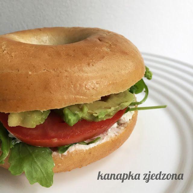 kanapka zjedzona: Prosty pomysł na bajgla